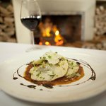 Peddlars' Osso Bucco Ravioli by the fire