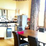 kitchen area - Manor Hall
