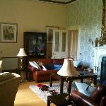 sitting room - Manor Hall