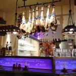 Bar inside Las Tapas