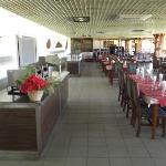 Restaurant Turiguano de l'hôtel au 12 avril 2012.