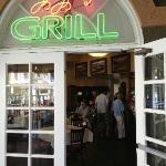 Main Entrance to J.J.'s Grill