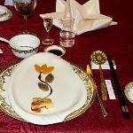 Formal banquet ... at Howard Johnson (!) Ordos