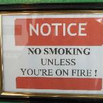 ALL NON SMOKING ROOMS