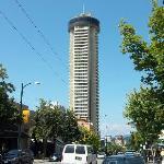 Das Empire Landmark Hotel von aussen