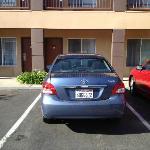 Plenty of parking close to your door!