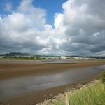 Taw Estuary from the trail between Fremington Quay and Barnstaple.