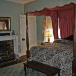 the historic bedroom