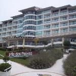 vista de uno de los edificios que componen el hotel