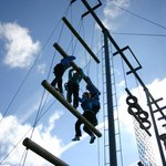 High Ropes Ballyhass Lakes Activity Centre