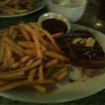 steak was yum !