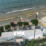 la spiaggia sotto il bed vistamare