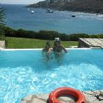 Our private pool and what a view!