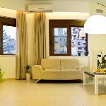 One bedroom suite - Livingroom and Kitchen