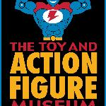 This is the logo for the only Toy & Action Figure Museum.
