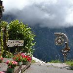 Pension Gimmelwald Biergarten