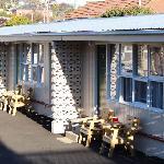 motel unit outside