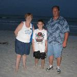 Family pic on Flagler Beach