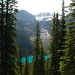 View of Morraine Lake from the trail (no photoshopping!!)