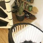 Narrow Spiral stairs