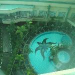 Pool view room is better than the ones overlooking Dago street
