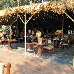 Restaurant at hotel beach - great place for food
