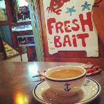 breakfast at the Anchor Inn