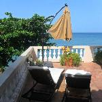 our semi-private terrace