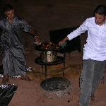 Cena típica beduina