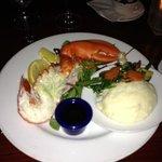 half lobster