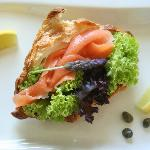 Smoked Trout Croissant