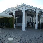 Terrasse et salle à manger extérieurs