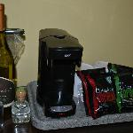 MiniBar Area-Coffeemaker and individual coffebags