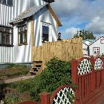 Entry via porch