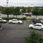 View from room - overlooking front parking and Samoset St