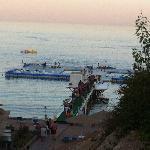 Pontile e piscina a mare principale (Isola galleggiante sul mare)