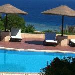 Una delle due piscine del Hotel Prestige