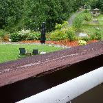 rampe de balcon à repeindre