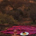 Sundowners or Tsavo weddings at Roaring Rocks.