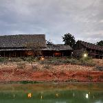 One of the first lodges ever to be built in a national park, the lodge is cool, tranquil and hus