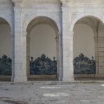 Renaissance style archways