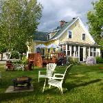 Un petit endroit de détente à la Maison Hatley