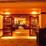 Palio, the restaurant where we ate breakfast