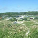 Ocracoke site- view from dune