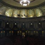 Interior as seen from the stage