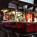 the bar at the Copper Horse