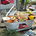 Our famous 5lb Bubba Bucket of Stone Crab claws