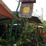 The Sign for La Naranja Soda