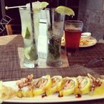 mojitos and sushi