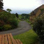 converted barn with the view.